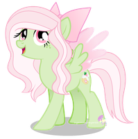 Strawberry bell re-design by SugarMoonPonyArtist