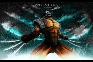 Wolverine the Animation chrisart by RazerChris
