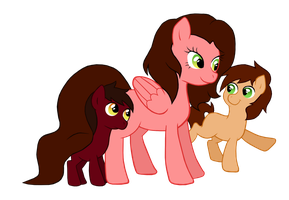 Mama's boys. by AskPonySpain