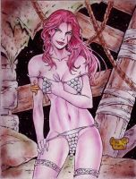 RED SONJA by RODEL MARTIN (12152015) by rodelsm21