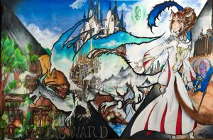 Final Fantasy XIV Looking Heavensward by AriaxCantabile
