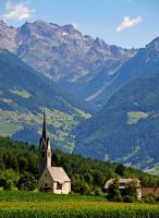 Church in Pustertal by Sergiba
