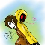Masky and Hoodie by OrganizationAllNoob