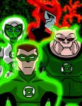 Green Lantern: The Animated Series by AndyManley3