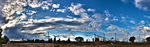Panorama skyline... I MADE THIS :D by AlonDiviX
