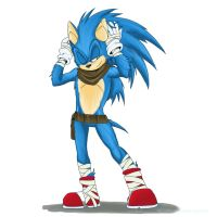 Sonic for BD by Blackhedgie