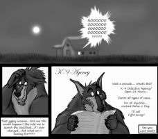 K-9 Agency Page 1 by darkmane