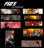 Psd's Pack by HardCandyArt