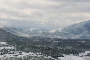 Snowy Smokies by nickcomito