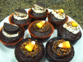 Halloween Cupcakes - 2 by Ila-Mae