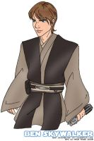 Ben Skywalker. by amiry