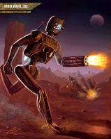 Infantry droid by guang2222