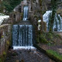 Water stairs by scubapic
