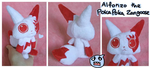 Poka Poka Zangoose plush by SilkenCat