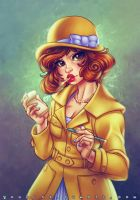 1920's April O'Neil by CamiFortuna