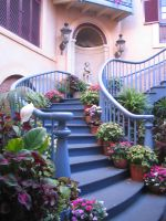 Victorian staircase by CRStock