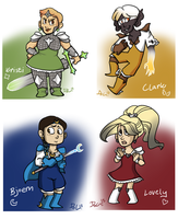 MAGICAL GIRLS AND MAGICAL BOYS by bPAVLICA