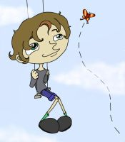 Swing and Butterfly by Ojokoku