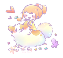 [ Foxmi Style ] Orange Ball Ball by Foxmi