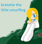 Bratette the little smurfling by thepuppylover