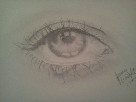 eye drawing by Volkswerk-JessWright
