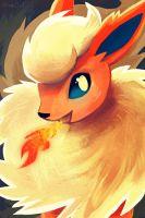 Flareon by OrcaOwl