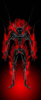 Skull Fire King by Soulevin