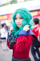 So smile! - Michiru by MonicaWos