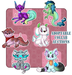 Adoptable Collab Auctions [CLOSED] by Metterschlingel