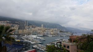 Looking down upon Monte Carlo by TheArtistAli