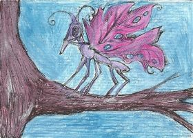 A Faerie's Steed by Dellessanna