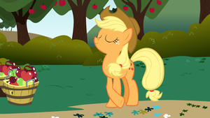 Applejack on the Farm by ShelltoonTV
