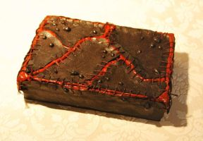 Gory Zombie Box by LouiseValerie