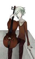 Nikolai, the Cellist by MythsandMonsters