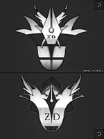 Which Logo by ZeyronDesigns