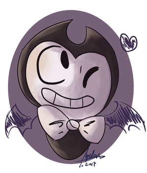 Lil Bendy Wants A Pair Of Wings by xXRay-PhoenixXx