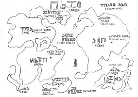 Ancient Argo Map by The-Great-Stash