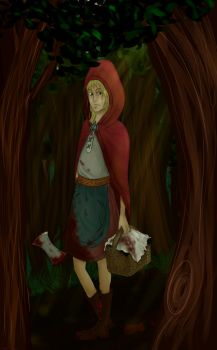 Little Red Riding Hood by Bipee