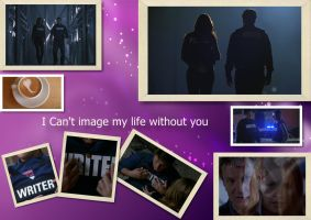 Kate and Castle I Can't Image My Life Without You by desruction888