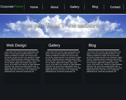 Business web template by Synthro