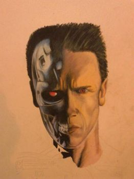 Arnie the Terminator by MasterTattooInst