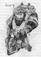 Halo:Reach-Jorge by Izaak94