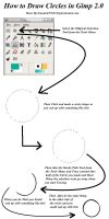 How to Draw a Circle in Gimp by brandon976431