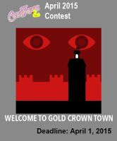 2015 April Contest: Welcome to Gold Crown Town by Asatira