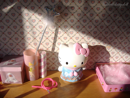 Pink Bedroom by hellokittydoll