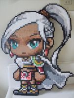 MapleStory: Perler Bead Aran by heatbish