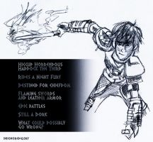 HTTYD2 Hiccup by inhonoredglory