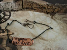 Carry on my Wayward Son by artistiquejewelry