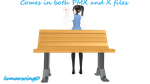 MMD Park Bench REDOWNLOAD IT by lunarwing0