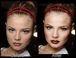 Model Retouch 1 by MakeupAndMages